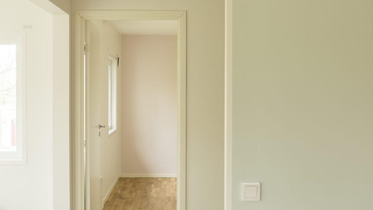 Rum med dörr