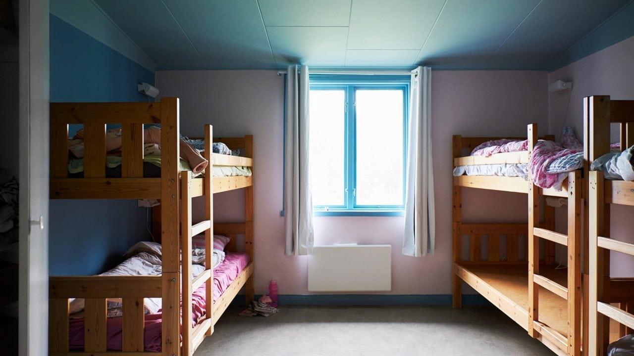 Rum med sängar